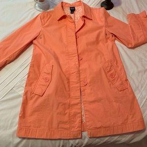 Gap Coral Trench coat/rain coat
